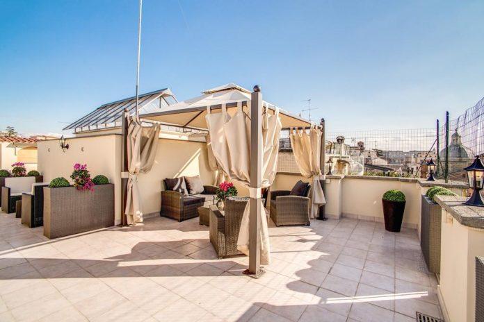 Hotel Anfiteatro Flavio terrazza