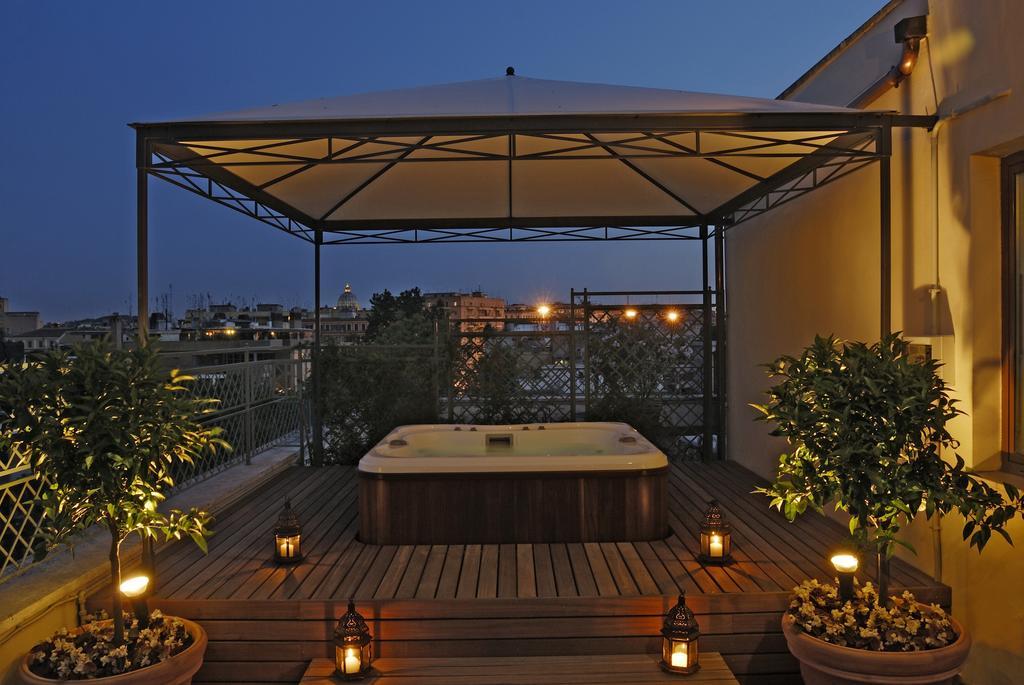 Hotel Clodio roma esterno