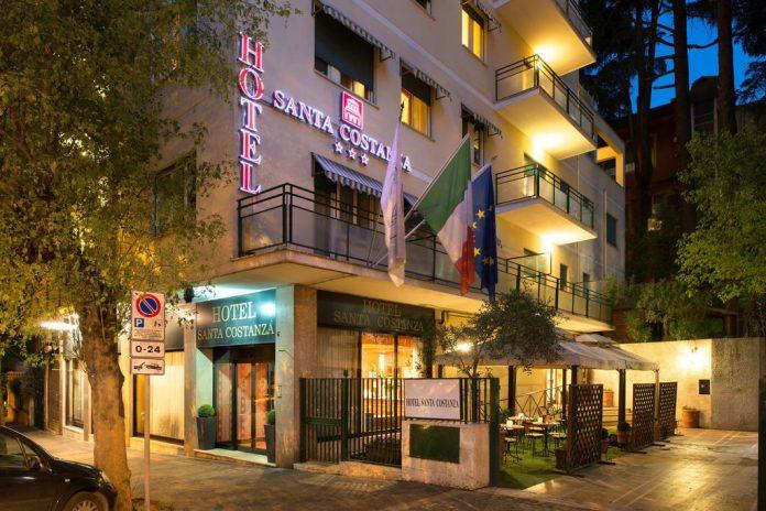 Hotel Santa Costanza esterno