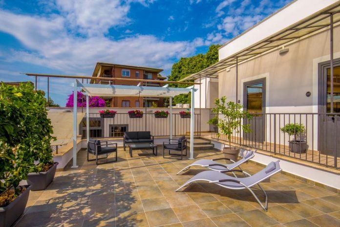 Urban Garden Hotel esterno